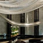 interior design hotel lobby artwork at shangai IHG Lobby