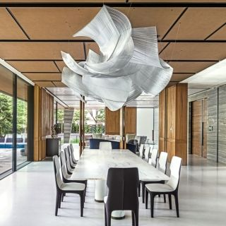 giant glass sculpture